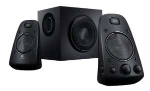 Logitech Z623 2.1 Speaker System for PC/Mac/Linux or Any Device with 3.5 mm and RCA Audio Out, Black £56.99 @ Amazon
