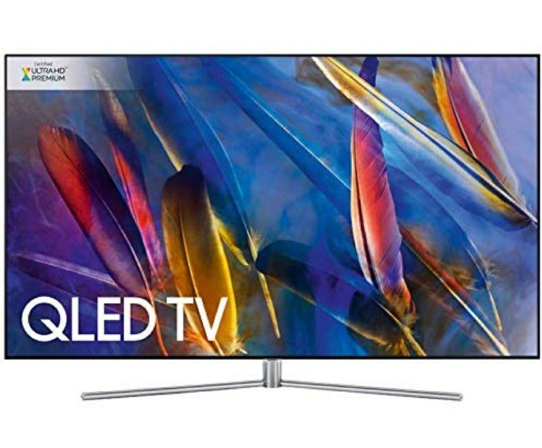 Samsung Q7F 55-Inch 2017 QLED Certified Ultra HD Premium HDR 1500 4K Smart TV - Sterling Silver £979 Tvsandmore FBA @ Amazon Prime