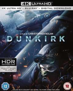 30% off all Christopher Nolan 4K UHD single titles £13.99 (in checkout) for Amazon Prime members.