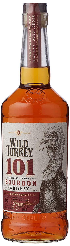 Wild Turkey 101 101 Bourbon Whiskey, 70 cl  £22 Amazon Prime Day