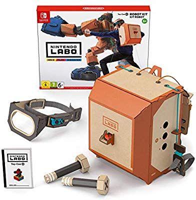 Nintendo Labo Robot Kit Only (£30.53 fee-free) £31.69 @ Amazon France