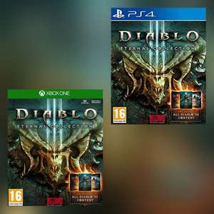 [Xbox One/PS4] Diablo III (3): Eternal Collection £15.81  Amazon Prime Excl