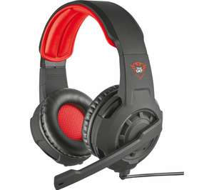 TRUST GXT 310 Radius Gaming Headset - Black & Red - £8.99 delivered @ Currys