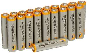 AmazonBasics AAA Performance Alkaline Batteries [Pack of 20]  only £3.99 @ Amazon Prime deal