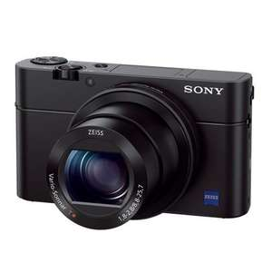 Sony RX100 Mark III Camera - £379 + £100 Sony cashback @ Amazon Prime Excl