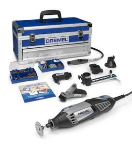 Dremel 4000 Platinum Edition 4000 Rotary Tool 175 W, Rotary Multi Tool Kit with 6 Attachments 128 Accessories £109.99 Amazon Prime Excl