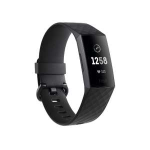 Fitbit Charge 3 Advanced Fitness Tracker with Heart Rate, Swim Tracking & 7 Day Battery - Graphite/Black, One Size £95.99 Amazon Prime Excl