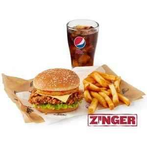 KFC colonels club offers Zinger tower meal £4.50 / Free supercharger dip with 3 Hot wings/ £4.99 Supercharger Boneless banquet