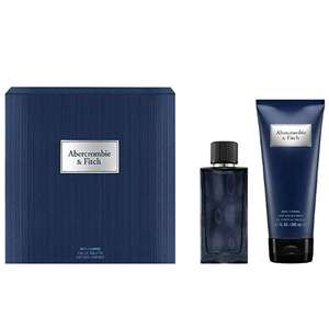 Abercrombie & Fitch First Instinct Blue For Men Eau de Toilette, 50ml and Hair and Body Wash, 200ml gift set £18.20 amazon prime excl