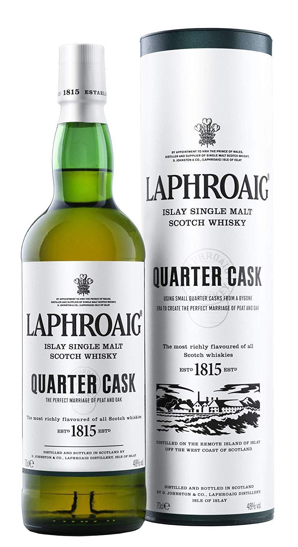 Laphroaig Quarter Cask Single Malt Scotch Whisky, 70 cl £24.90 + £4 pantry credit @ Amazon (prime members)