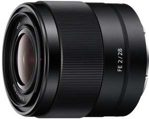 Sony 28mm f2 E Mount Full Frame 28 mm F2.0 Prime Lens  (SEL28F20) - £285 @ Amazon