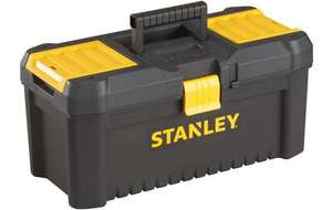 """Stanley 12.5"""" Toolbox FOR £4.05 (19 Inch for £11.70) WITH CODE   @ Halfords Free C&C"""
