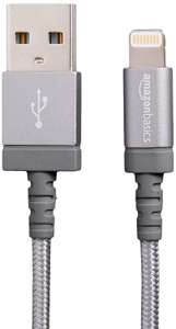 Amazon basics lightening usb cable, £5.59 at checkout. Great reviews. Amazon Prime Excl