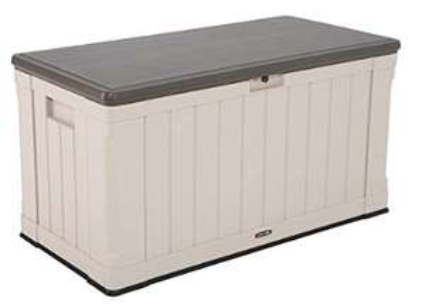 Lifetime Heavy-Duty Outdoor Storage Box 439.11 L £69.99 @ Amazon (Prime exclusive)