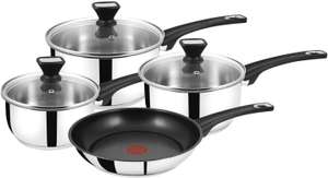 Jamie Oliver Tefal stainless Steel sell pan set £35.99 @ Amazon (Prime Exclusive)