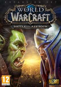 World of Warcraft: Battle For Azeroth - Standard Edition [PC Code] - £16.99 Prime Members @ Amazon