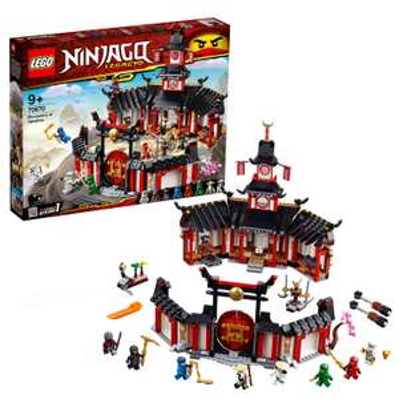 LEGO 70670 Ninjago Legacy Monastery of Spinjitzu now £47.99 delivered with Prime at Amazon