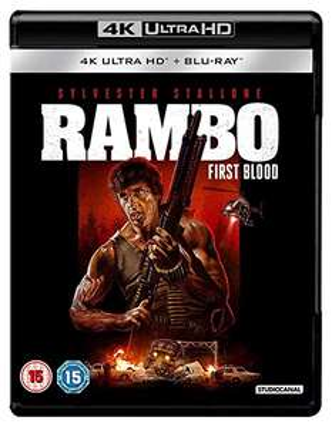 Rambo: First Blood 4K UHD £12.22 Amazon