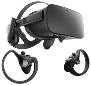 Oculus Rift and Touch Controllers Bundle £329.99 Amazon Prime Excl