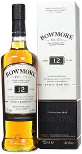 Bowmore 12 Year Old Malt Whisky 70cl £24.99 @ Amazon