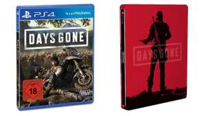 Days Gone PS4 + Steel Book £31.07 inc shipping from Amazon Germany + Prime trial