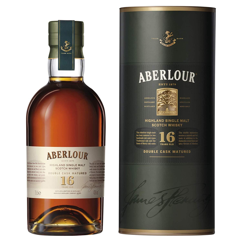 Aberlour 16 Year Old Double Cask Matured Single Malt Scotch Whisky, 70 cl £40.90 @ Amazon (Prime excsluive)