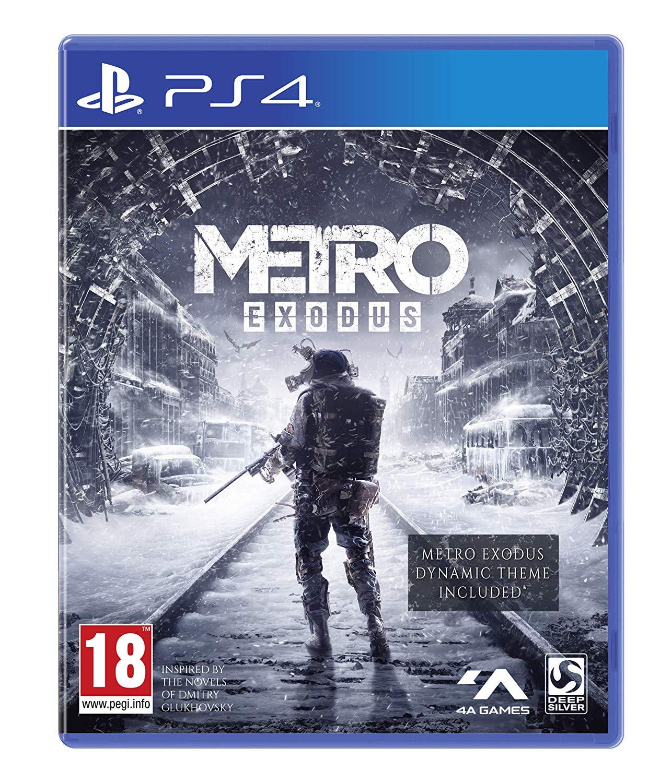 Metro Exodus PS4 + Spartan Survival Guide - £25.99 at Amazon Prime Exclusive