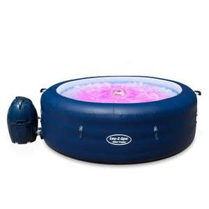 Lay-Z-Spa Saint Tropez Hot Tub with Floating LED Light 2019 model, AirJet Inflatable Spa, 4-6 Person £299.99 @ amazon (Prime Exclusive)