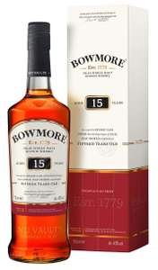 Bowmore Darkest 15 Year Old 70cl - £36.99 at Amazon Prime Exclusive