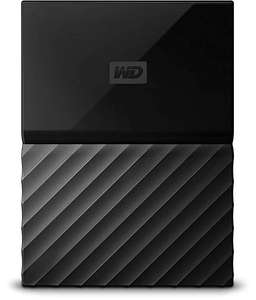 WD My Passport 4TB portable hard drive for PC £58.80 Amazon Warehouse Deals Used Like New Prime members only