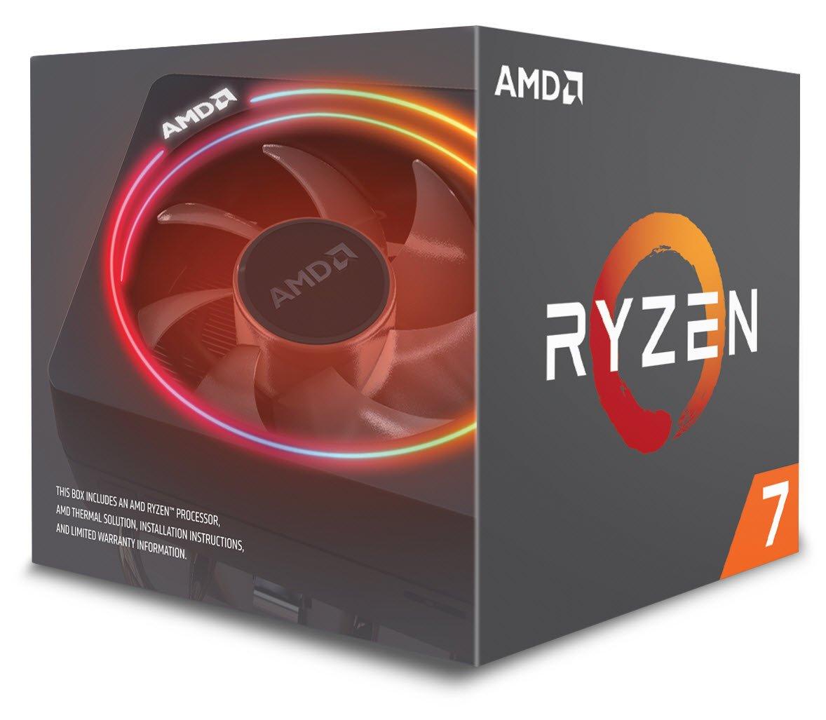 AMD Ryzen 7 2700X Processor with Wraith Prism RGB LED Cooler - YD270XBGAFBOX - £214.99 at Amazon