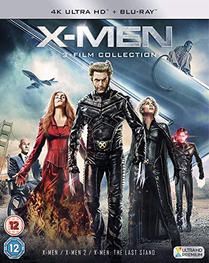 X-Men Trilogy 4K UHD + BD Blu-ray £13.64 @ AMAZON PRIME