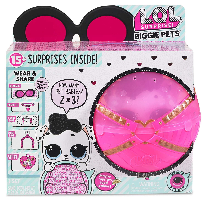 L.O.L. Surprise Biggie Pet- Dollmatian - £17.49 at Amazon Prime Exclusive