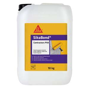 Sikabond Contractor PVA [10kg] £16.45 @ Homebase
