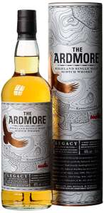 Great Savings on Ardmore Legacy Highland Single Malt Scotch Whisky - £18.90 at Amazon Prime Exclusive