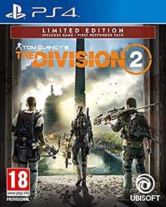 Tom Clancy's The Division 2 Limited Amazon Edition (Exclusive to Amazon.co.uk) (PS4/XB1) - £22.99