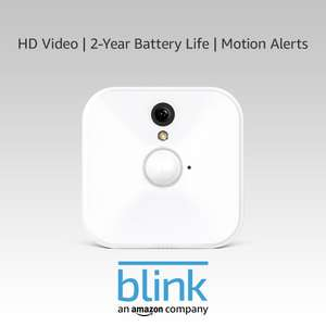 Blink Indoor Home Security Camera, Prime Exclusive deal £48.99, Sold by Immedia Semiconductor, LLC - Europe and Fulfilled by Amazon.