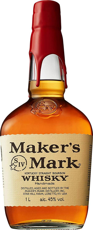 The Best Bourbon -  Maker's Mark Bourbon Whisky 1L - £31.99 at Amazon