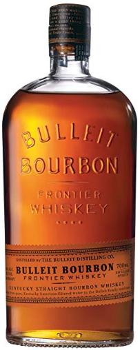 Bulleit Bourbon Frontier Whiskey, 700 ml - £17.60 at Amazon Prime Exclusive