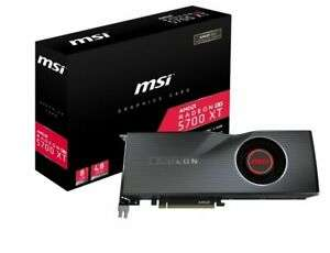 MSI Radeon 5700 XT 8GB Graphics Card - £343.60 with code PARTY @ ebuyer eBay - in stock