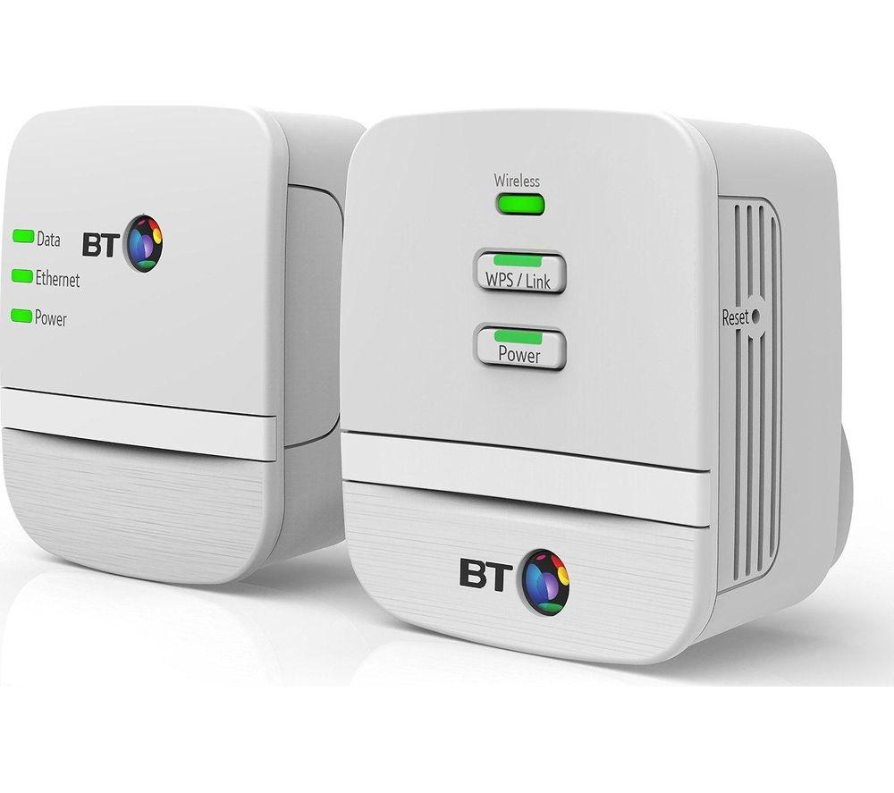 BT Mini Hotspot 600 Powerline Kit £9 @ homebase