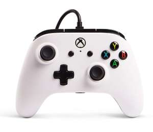 Enhanced Wired Controller for Xbox One - White - £15.99 at Amazon Prime Exclusive