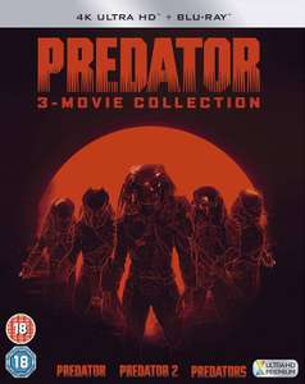 Predator Trilogy 4k blu ray UHD £20.56 @ Amazon Prime Excl
