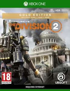 Tom Clancys The Division 2 GOLD (Xbox One) £29.99 @ Amazon Prime Excl