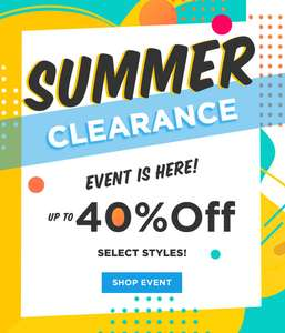 Skechers Summer Clearance 40 % OFF