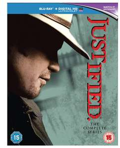 Justified: The Complete Series Blu-ray + Digital Box Set for £15.12 at Amazon Prime Exclusive
