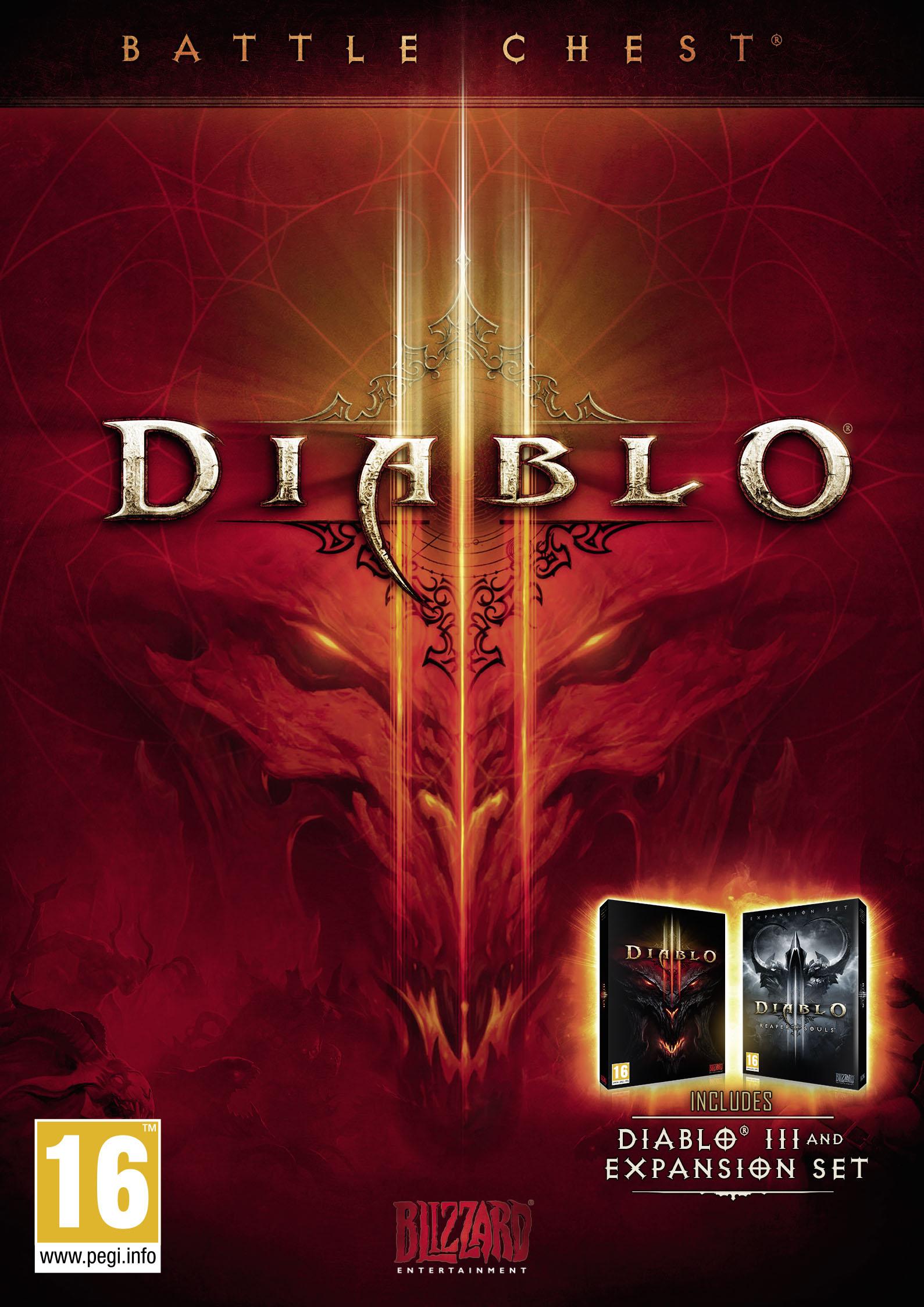 Diablo III Battlechest [PC/Mac Code] - £12.99 at Amazon Prime