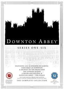 The complete Downton Abbey DVD boxset reduced by 30% at checkout to £17.59 for Amazon Prime Day only