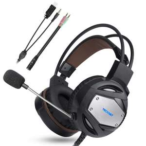 TeckNet 3.5mm Stereo Over-Ear Gaming Headset - PS4 / Xbox One / PC £10.99 Prime / £15.48 non prime Sold by BLUETREE and Fulfilled by Amazon