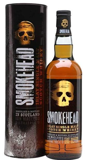 Smokehead Single Islay Malt Whisky 70cl £25.49 Amazon Prime Excl